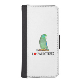 Spectacled Parrotlet iPhone SE/5/5s Wallet Case