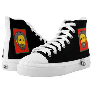 Speechless Hi Top Sneakers Haile Selassie