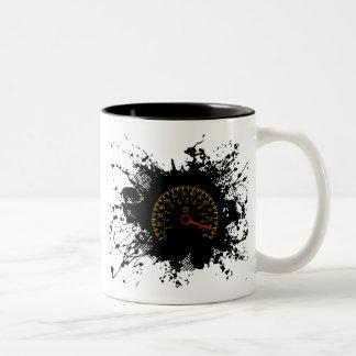 Speed Emblem Urban Style 2 Two-Tone Coffee Mug