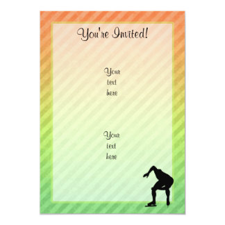 Speed Skater Personalized Announcement