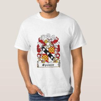 Spencer Family Crest - Spencer Coat of Arms T-Shirt