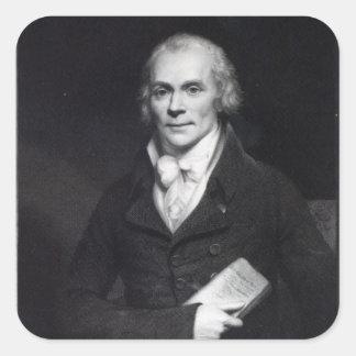Spencer Perceval Square Sticker