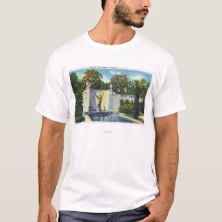 Spencer Trask Memorial Fountain View T-Shirt