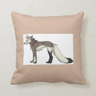 Spencer Wolf Dog Pillow
