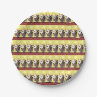 Spencer Wolf Plates 7 Inch Paper Plate