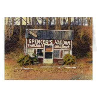 Spencer's Haddam Shad Shack Card