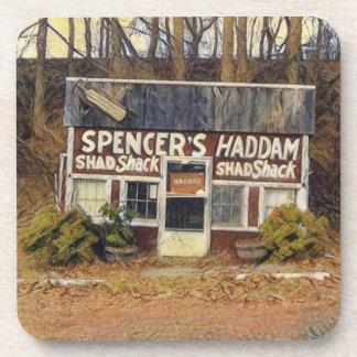 Spencer's Shad Shack Beverage Coasters
