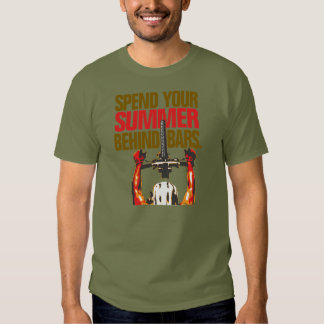 Spend your summer behind bars - mountain bike t-shirts