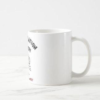 Spermicide! Red Handed! Basic White Mug
