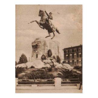 Spezia Monument Garibaldi 1911 Replica Postcard