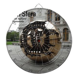 Sphere within sphere Dublin Ireland Dartboard