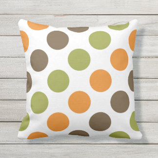 Spice Polka Dots Pillow