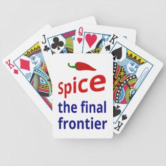 Spice: the final frontier card decks