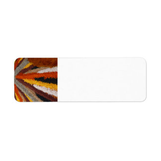 spices-73770 spices spice mix colorful curry peppe return address label