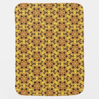 Spider Fangs Dandelion Yellow Baby Blanket
