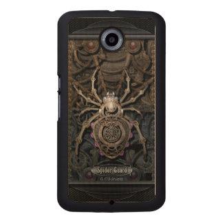 Spider Guard Steampunk. Wood Phone Case
