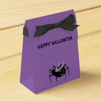 Spider in Hat Favour Boxes