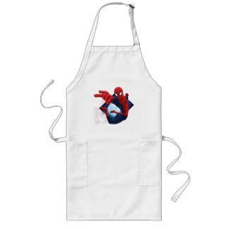 Spider-Man Action Character Badge Long Apron