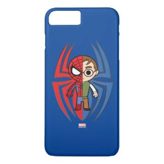 Spider-Man and Peter Parker Dual Identity iPhone 8 Plus/7 Plus Case