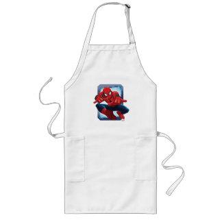 Spider-Man Character Card Long Apron
