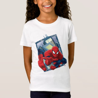 Spider-Man City Character Graphic T-Shirt