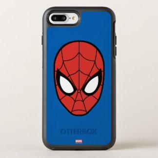 Spider-Man Head Icon OtterBox Symmetry iPhone 8 Plus/7 Plus Case