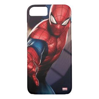 Spider-Man On Skyscraper iPhone 8/7 Case
