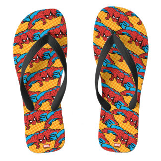 Spider-Man Retro Crouch Thongs
