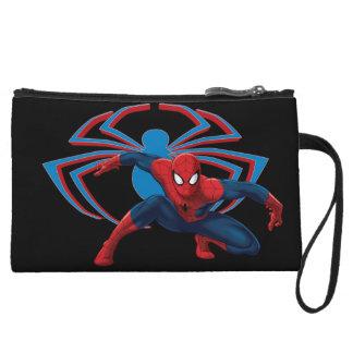 Spider-Man & Spider Character Art Wristlet