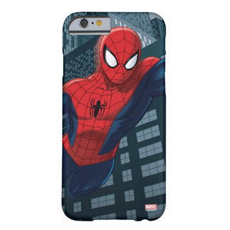 Spider-Man Swinging Through Downtown Barely There iPhone 6 Case