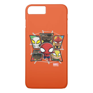 Spider-Man Team Heroes Mini Group iPhone 7 Plus Case