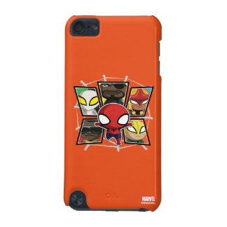 Spider-Man Team Heroes Mini Group iPod Touch 5G Case