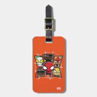 Spider-Man Team Heroes Mini Group Luggage Tag