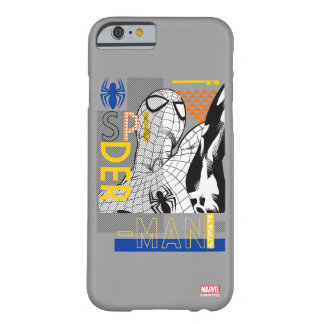 Spider-Man Ultimate Bauhaus Collage Barely There iPhone 6 Case