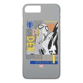 Spider-Man Ultimate Bauhaus Collage iPhone 8 Plus/7 Plus Case