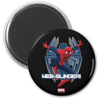 Spider-Man Web-Slinger Graphic Magnet