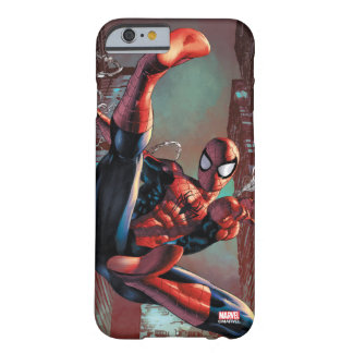 Spider-Man Web Slinging In City Marker Drawing Barely There iPhone 6 Case
