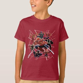 Spider-Man Web Warriors Attack T-Shirt