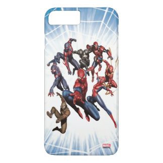 Spider-Man Web Warriors Gallery Art iPhone 7 Plus Case