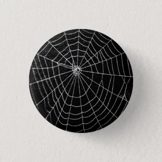 SPIDER WEB 3 CM ROUND BADGE