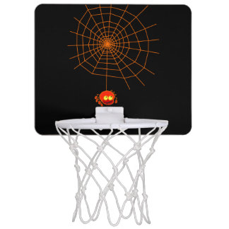 Spider Web Halloween Mini Basket Ball Goal Mini Basketball Hoop