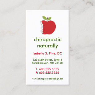 Spine chiropractic business cards zazzle nz spineapple vertical chiropractic business cards colourmoves