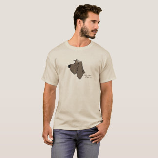 Spinone Italiano head silhouette T-Shirt