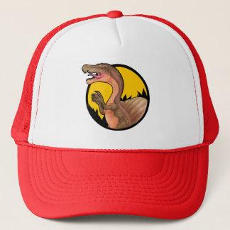 Spinosaurus badge hat