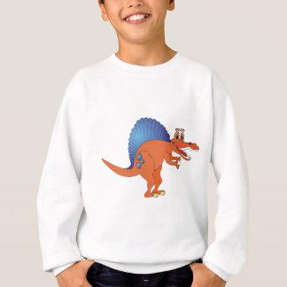 Spinosaurus Dinosaur Cartoon Sweatshirt