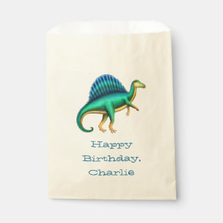 Spinosaurus Dinosaur Party Favor Bags