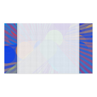 Spira-Weird - Colorful Abstract Pack Of Standard Business Cards