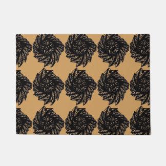 Spiral Alternative Mandala Doormat