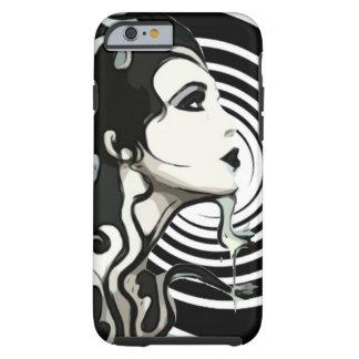 Spiral melting woman Cellphone case