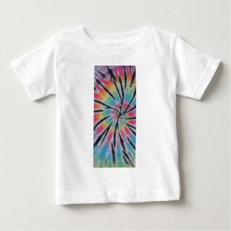 Spiral Swirl Pastel Rainbow Tie Dye PhatDyes T-shirt